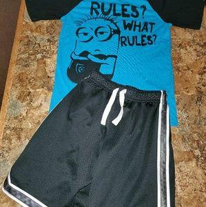 Oshkosh shorts outfit mix